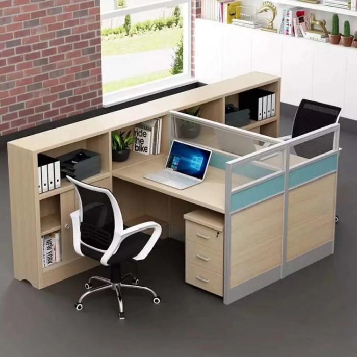 办公室财务隔断工位电脑桌62