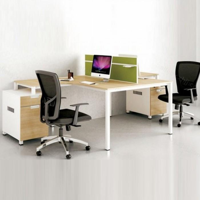 简约屏风办公桌生产直销64