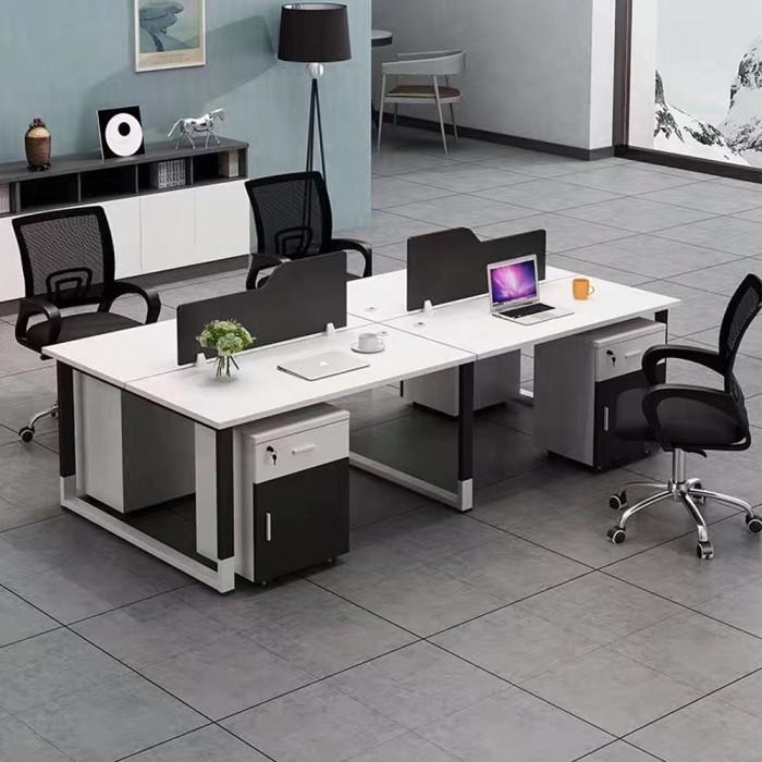 办公屏风卡位组合电脑桌65