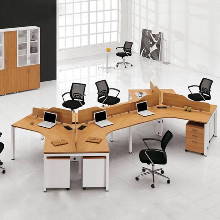 职员屏风办公桌工作桌70