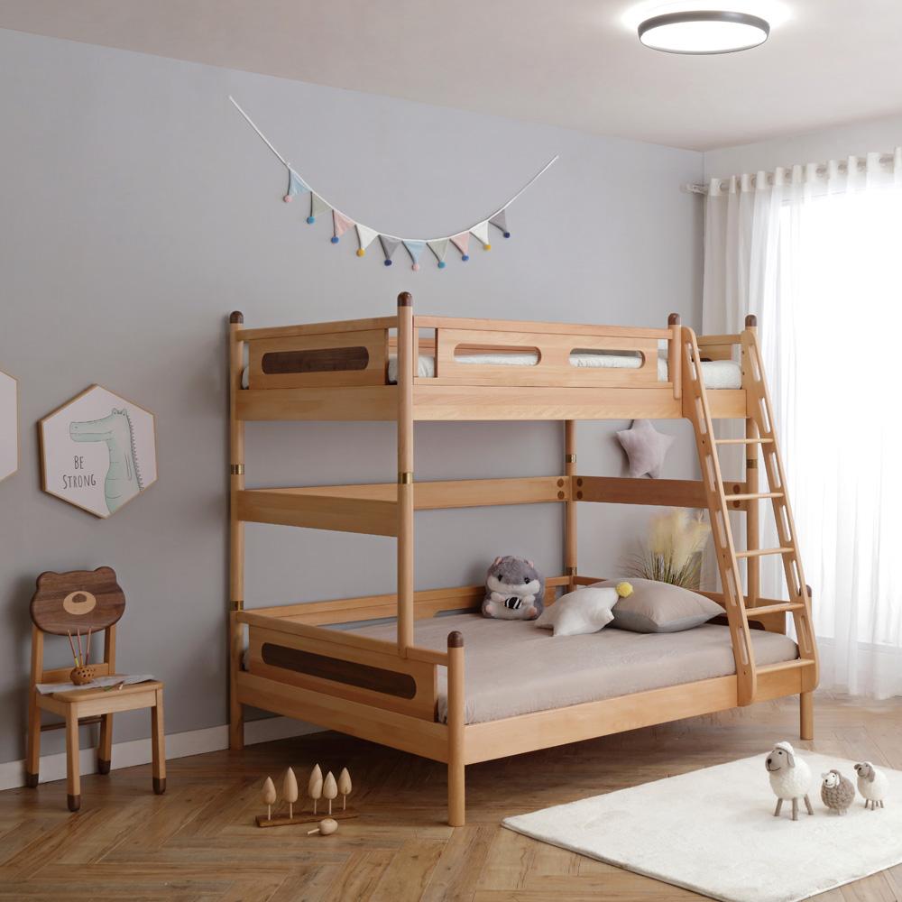 双层床子母床儿童高低床4R0A2512-1