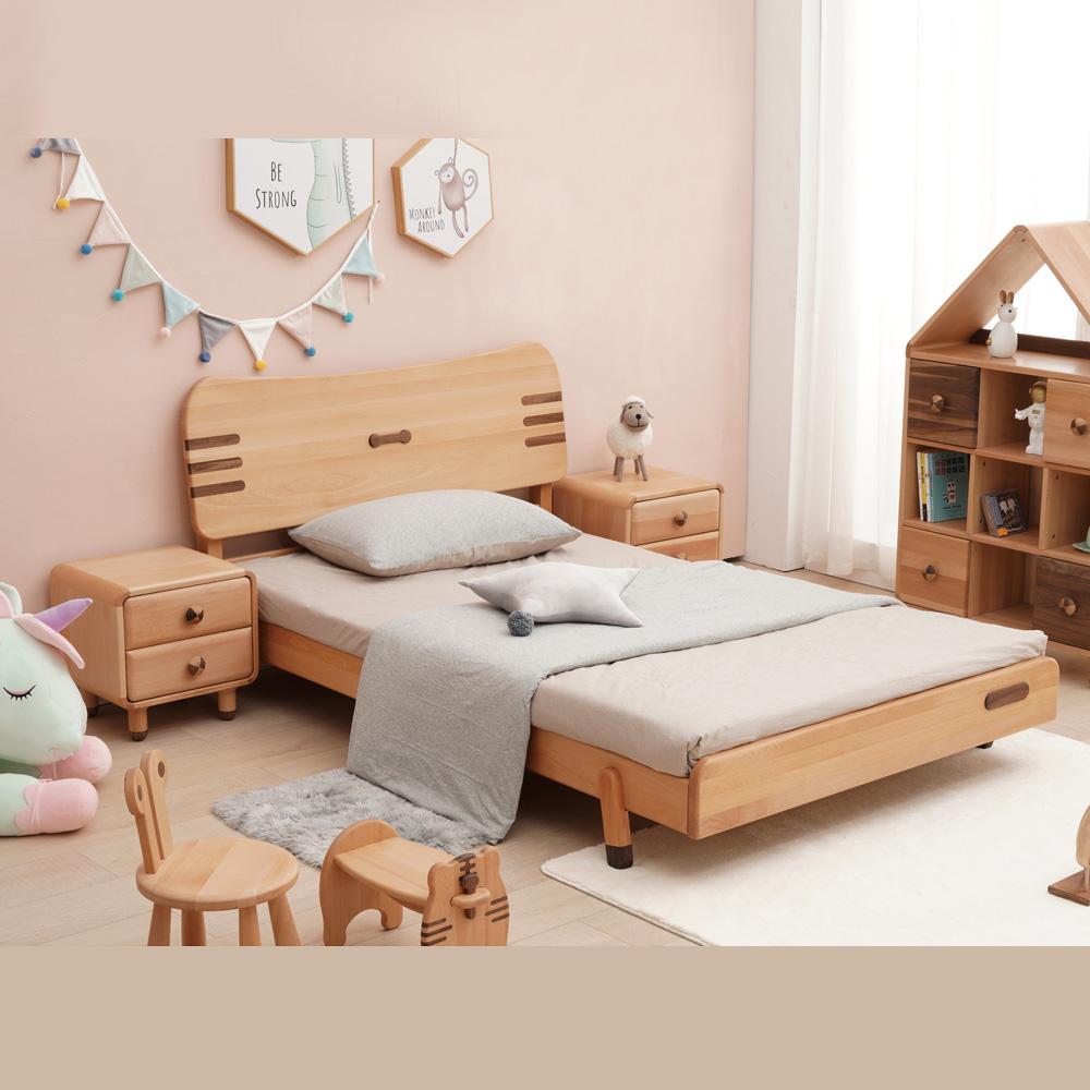 北欧儿童家具儿童单人床DSC04060