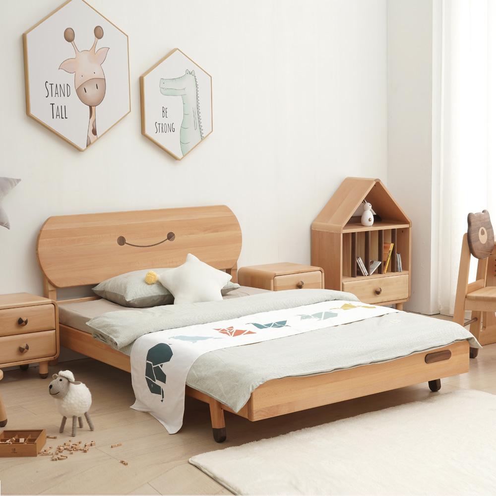 儿童卧室家具创意笑脸床 DSC04281