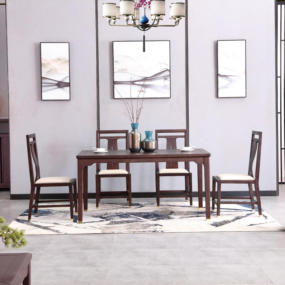 现代新中式餐桌椅AJ5A8866