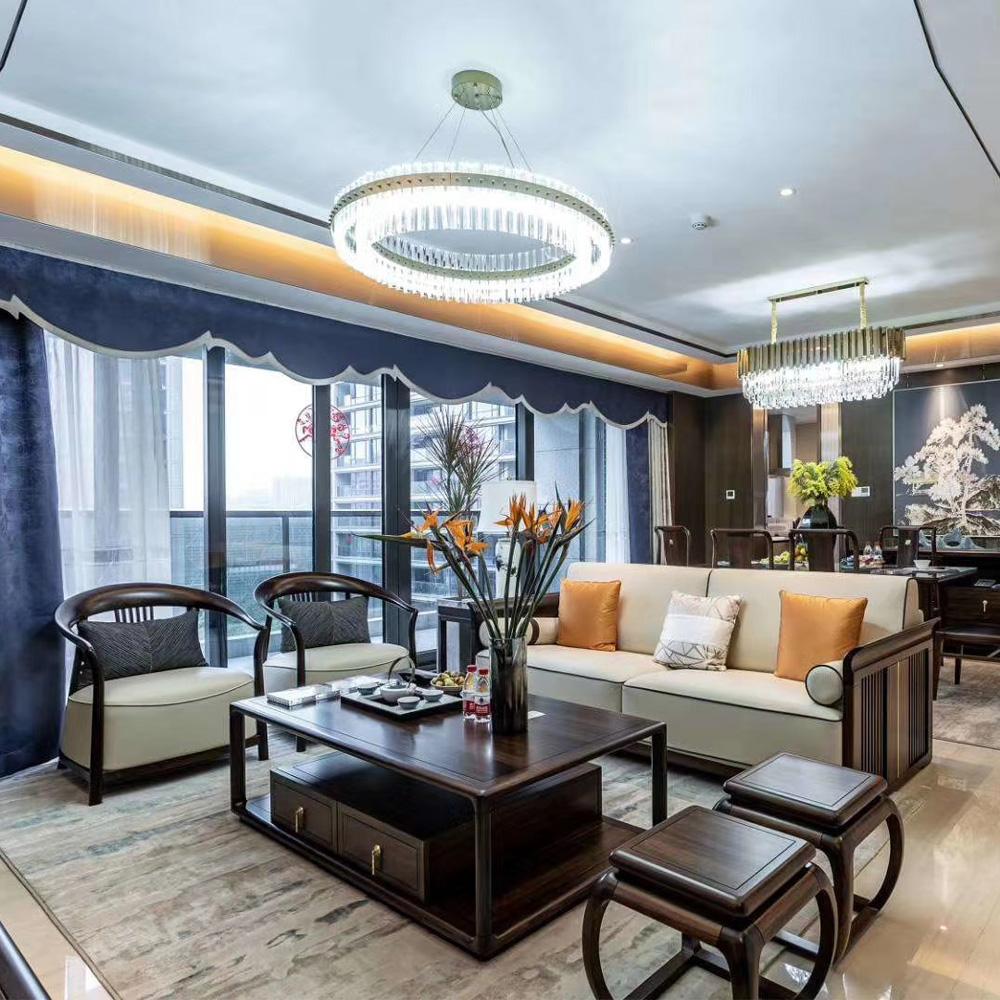 1057 禅意中式组合休闲沙发
