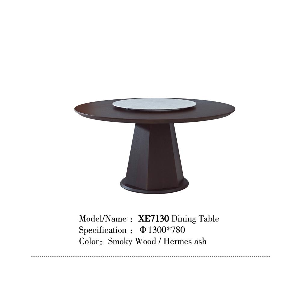 XE7130 意式极简家用圆桌带装盘