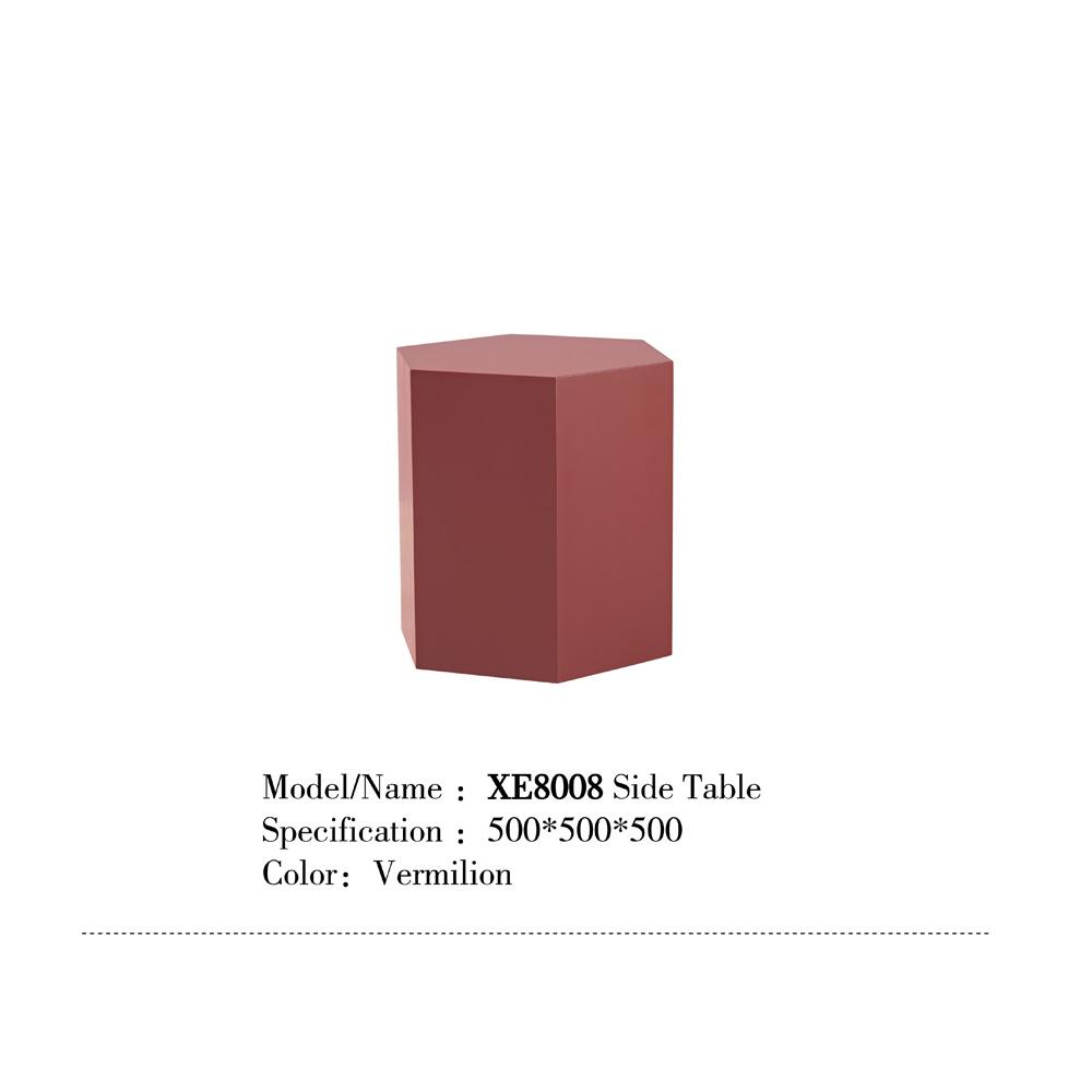 XE8008 现代多边形茶几边桌侧桌