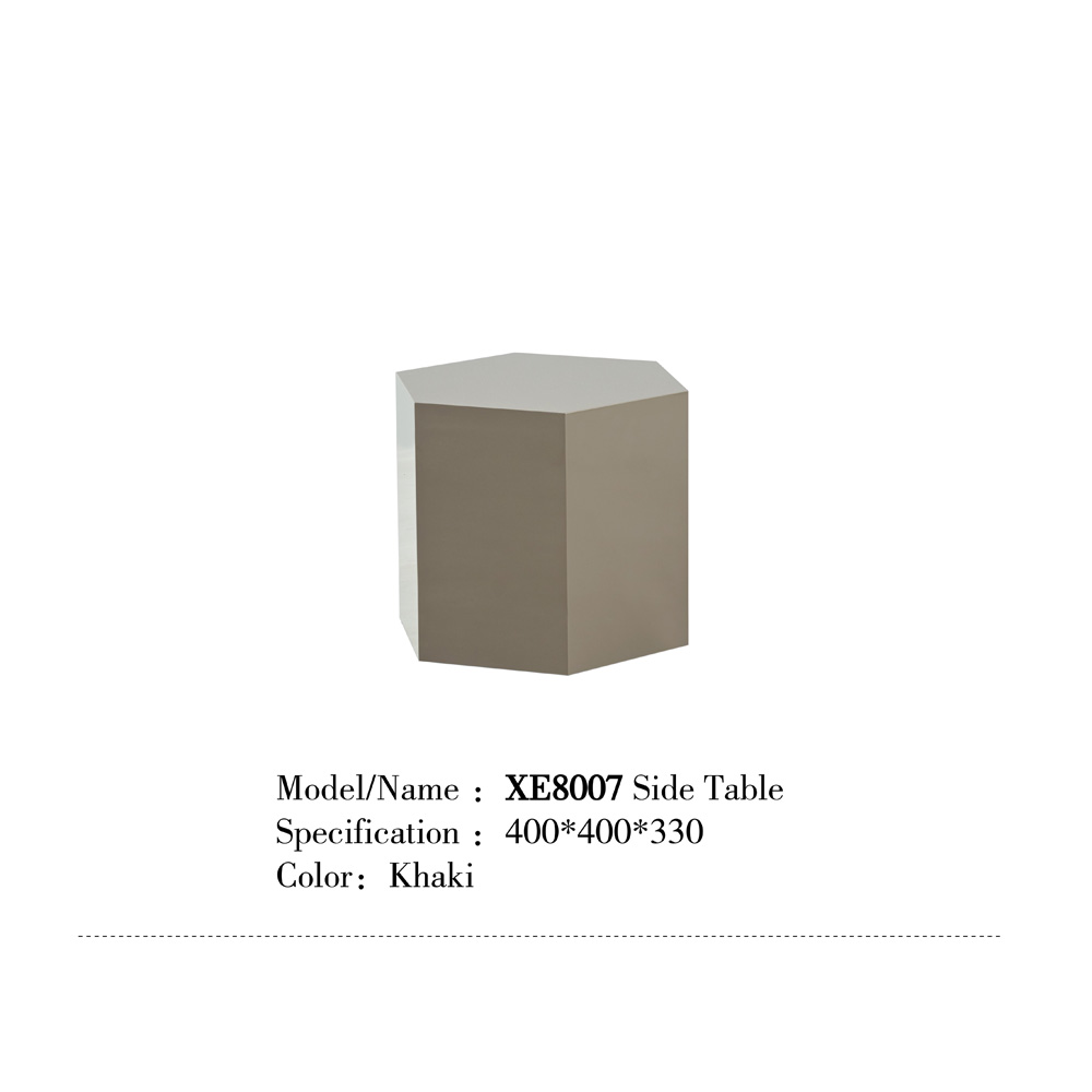 XE8007 客厅多边形茶几边桌批发