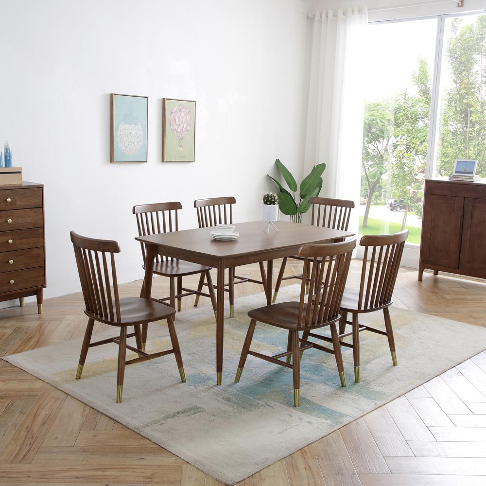 4Z6A6069 生产直销北欧长方形餐桌椅