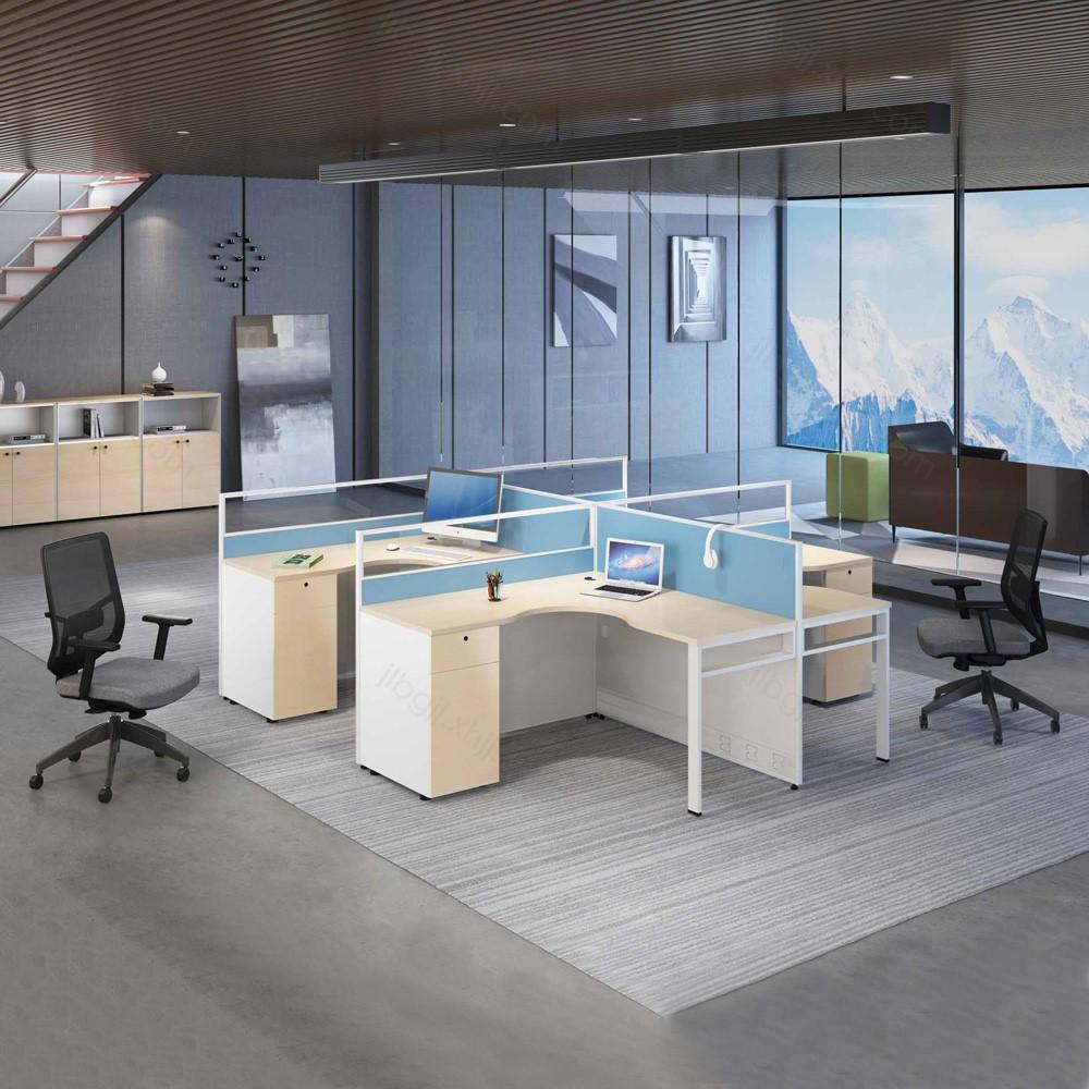 09 职员办公桌屏风卡座电脑桌