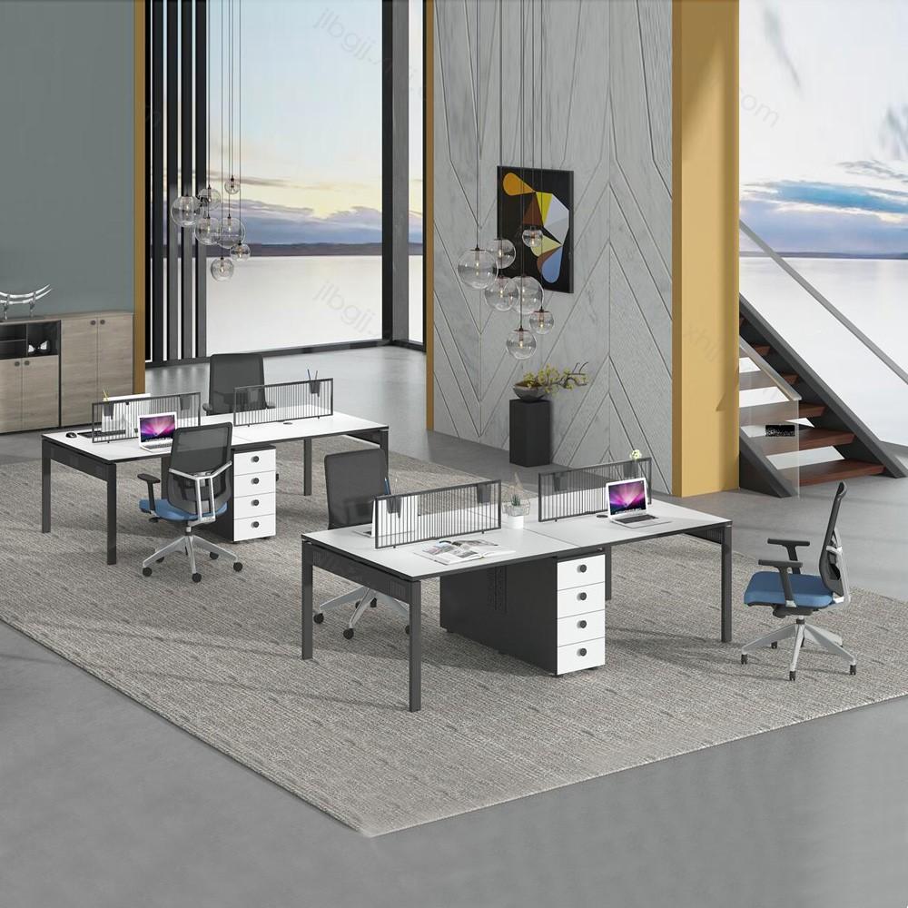13 屏风卡座员工位办公室家具