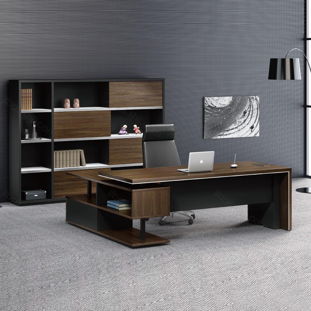 27 时尚现代板式总裁桌老板桌