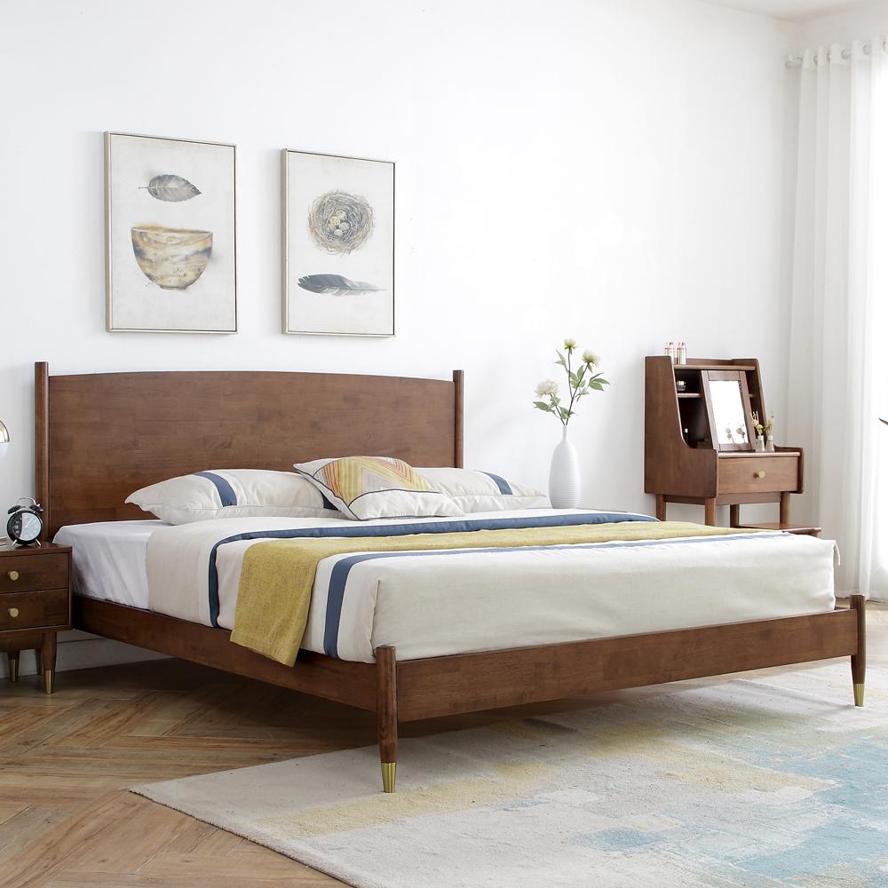 4Z6A5924 北欧双人床主卧大床价格优惠