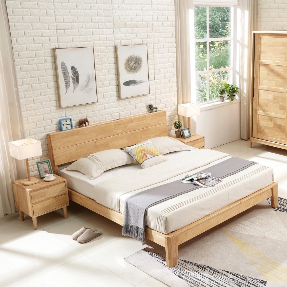 TF-01 北欧双人床衣柜套房
