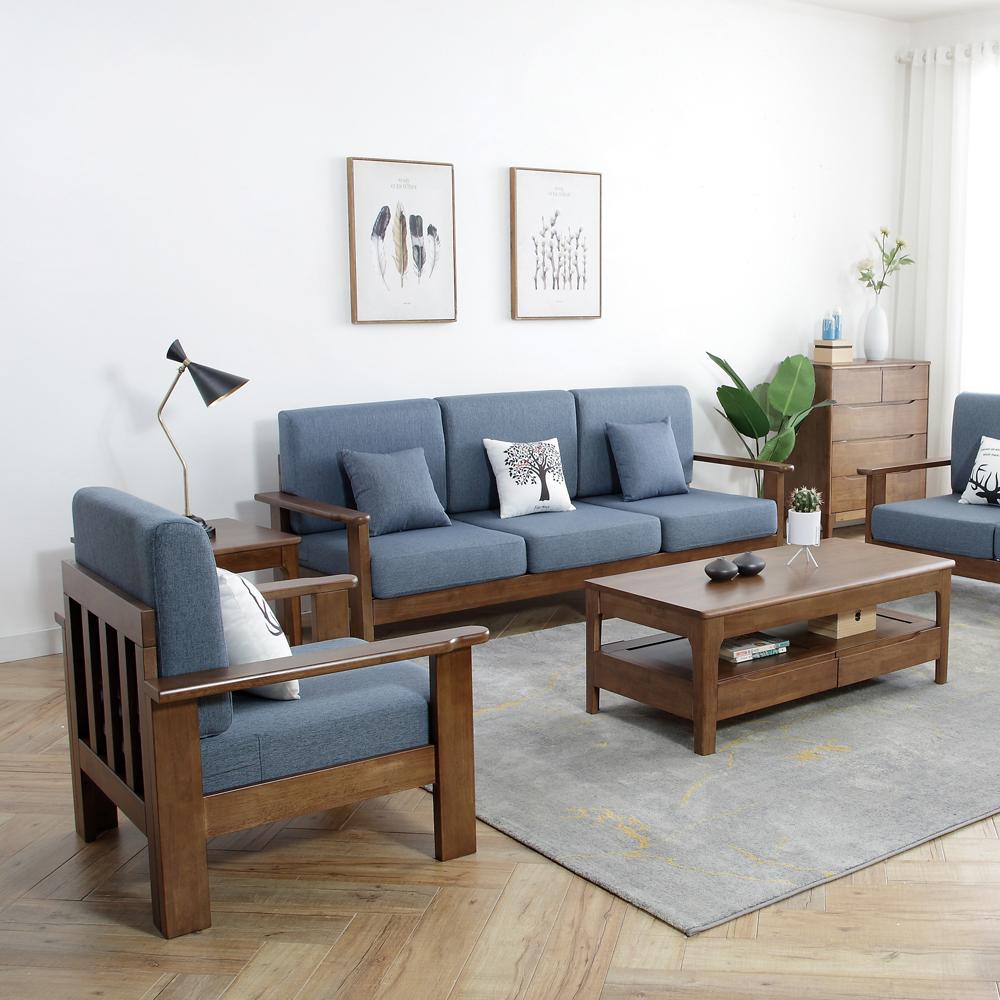 4Z6A4630 现代北欧客厅布艺沙发组合