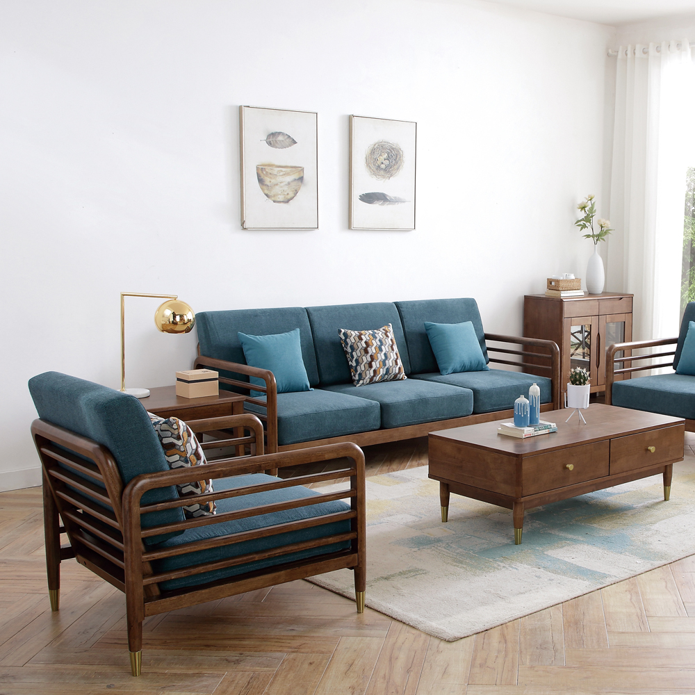 4Z6A6400 北欧小户型客厅组合布艺沙发