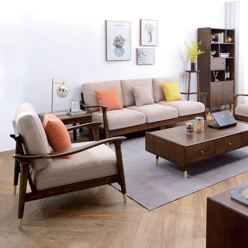 7780 客厅组合沙发 北欧布艺沙发厂家直销
