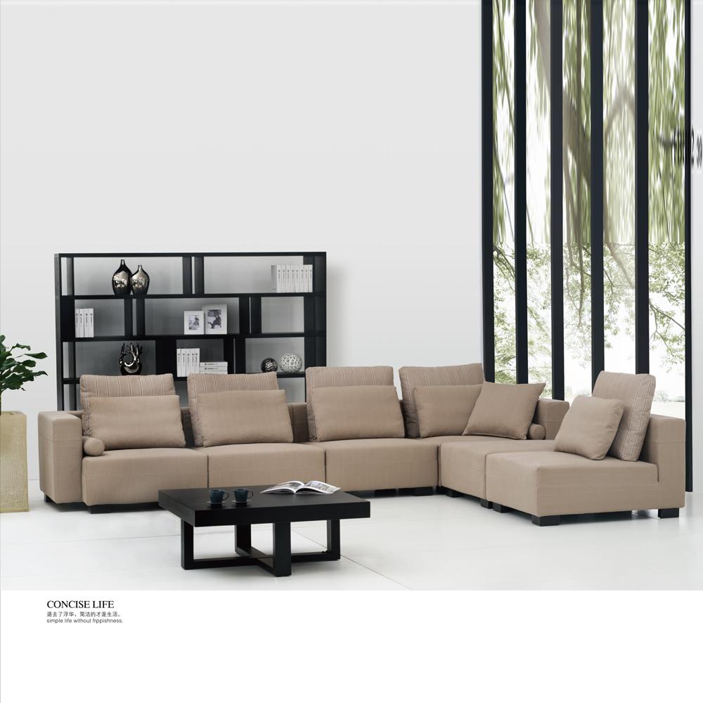 fb1102 工厂直销现代客厅转角沙发
