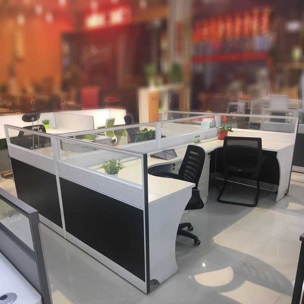 84  办公家具屏风卡位电脑桌