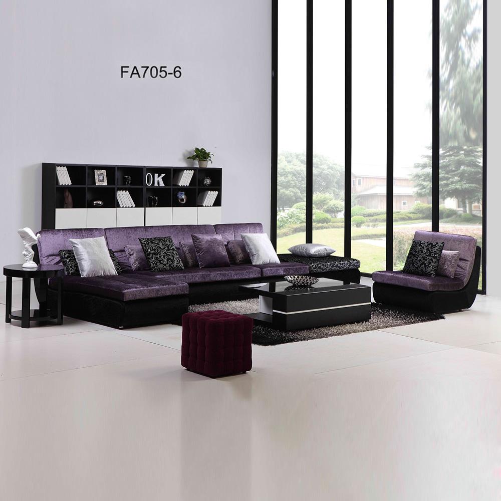 FA705-6 客厅转角布艺沙发 组合沙发
