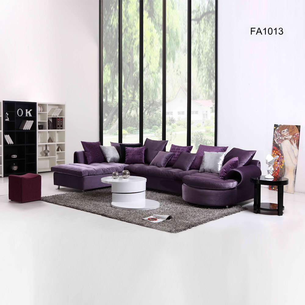 FA1013 客厅家具 简约转角沙发