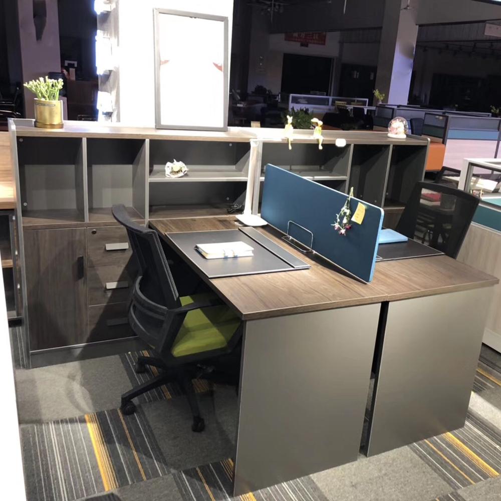 94 简约现代办公桌屏风桌