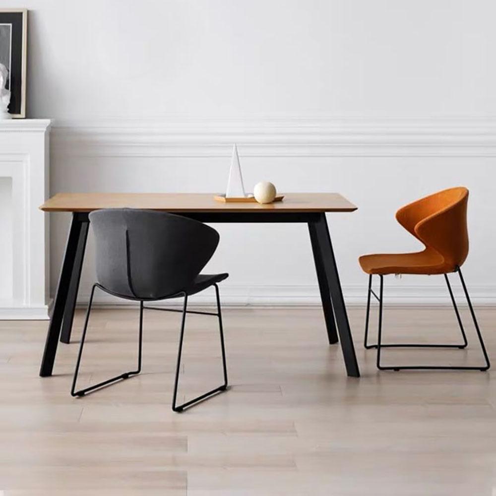 1535厂家直销餐厅家具原木色桌