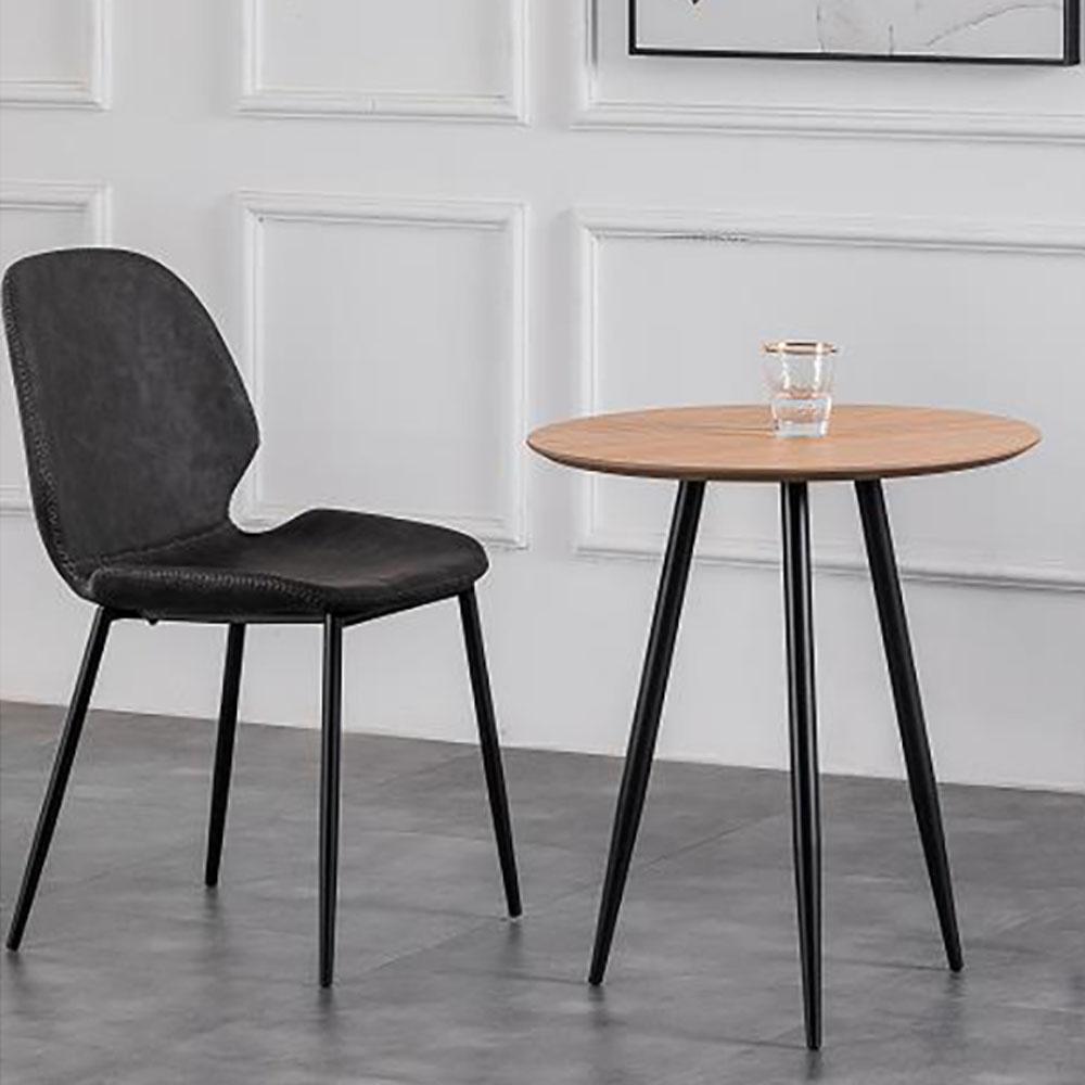 9364-60白橡现代简约餐椅