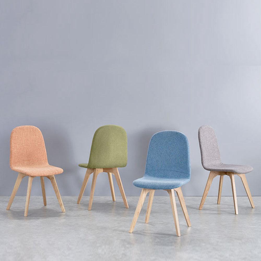 9942休闲布艺餐椅