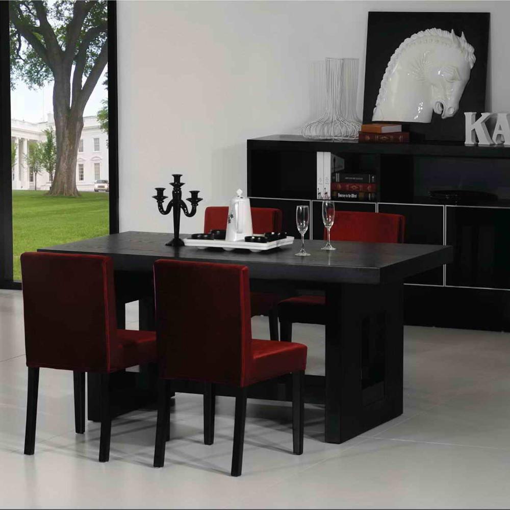 FE001 厂家直销长方形餐桌椅