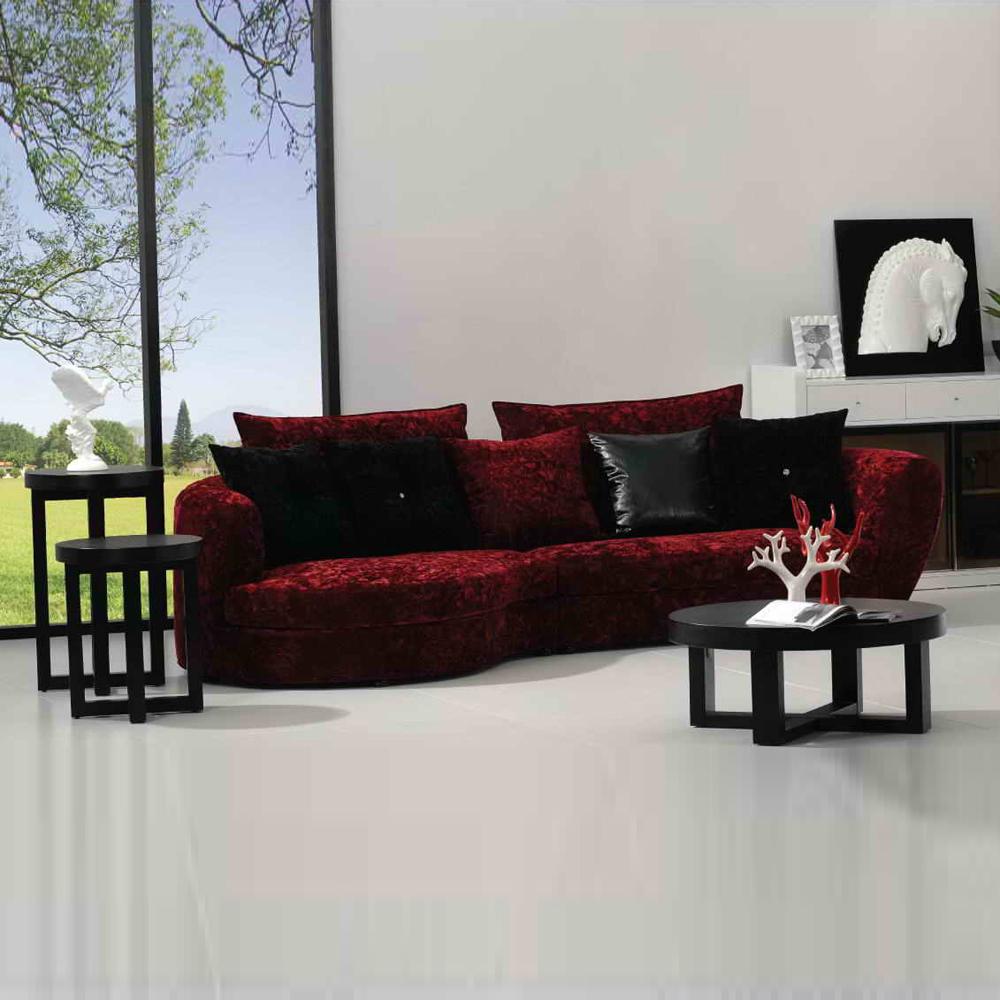 FA9007 客厅直排沙发布艺沙发