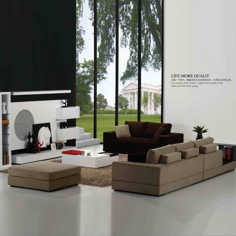 FB111 别墅样板间布艺沙发 时尚组合沙发
