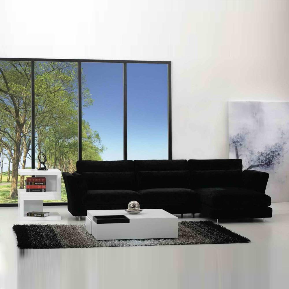 FB8033 小户型现代布艺转角沙发