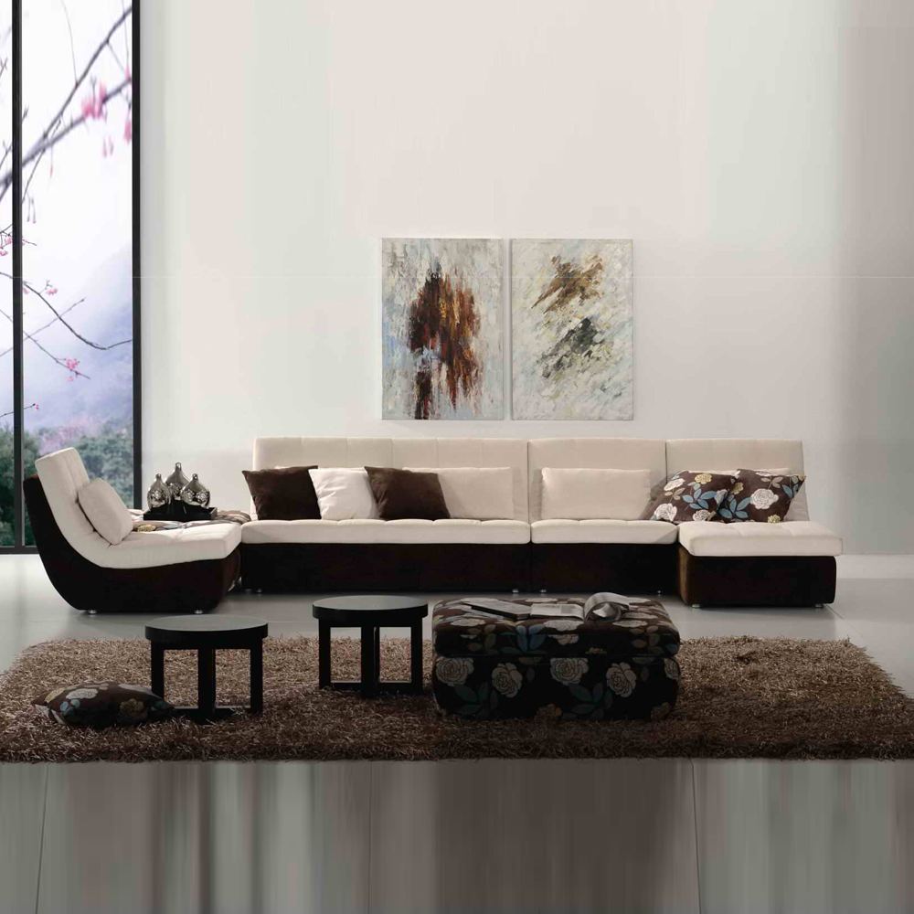 FA705 客厅转角沙发休闲沙发采购价格