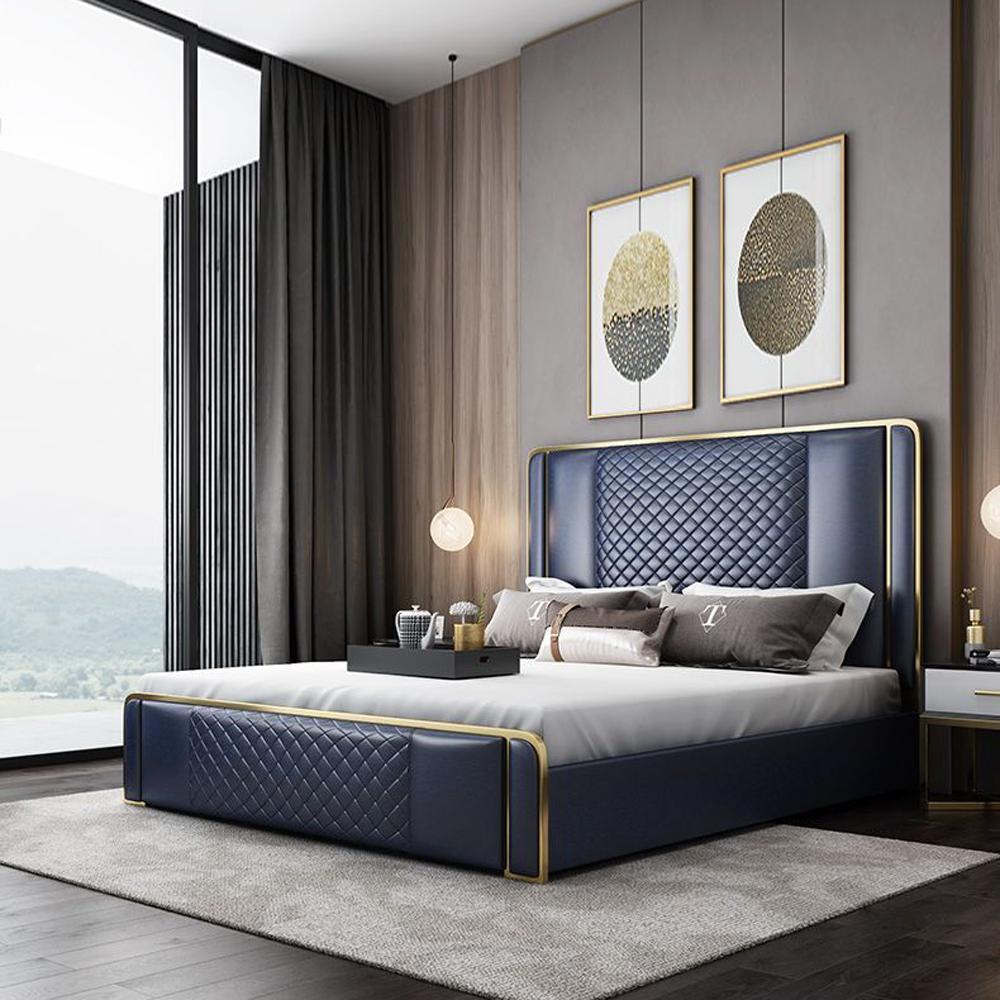 QSC-02  北欧现代轻奢卧室双人床