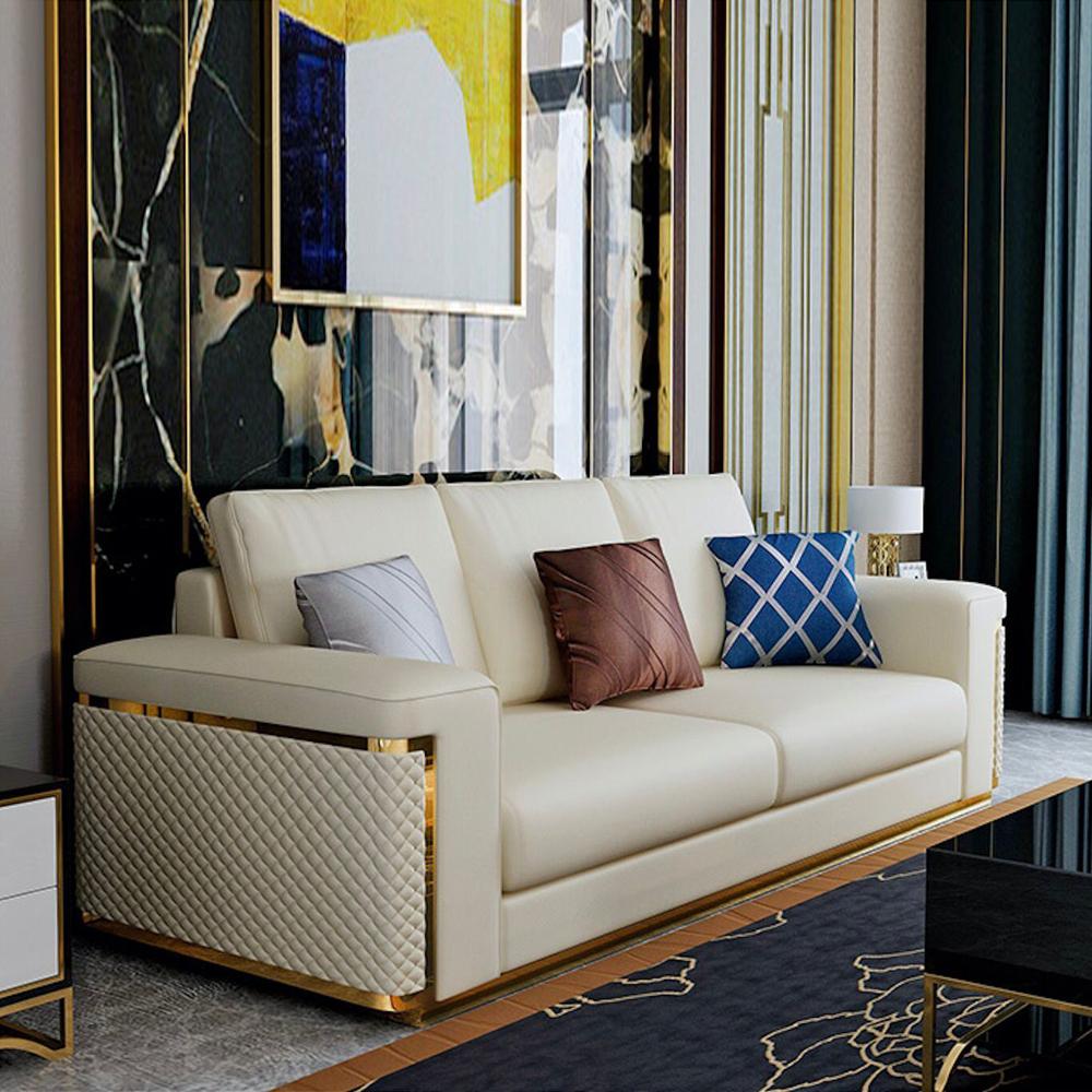 SF-07 轻奢客厅直排沙发价格