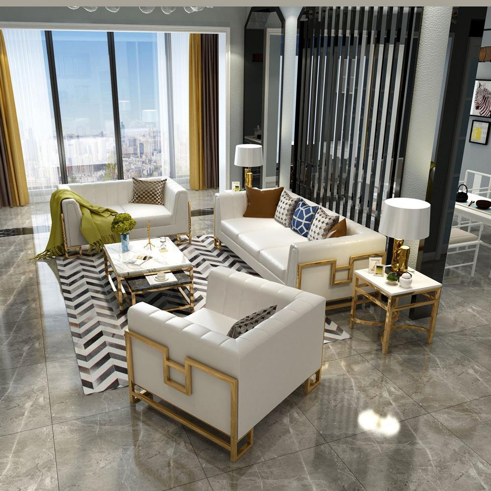 SF-11 高端轻奢客厅真皮休闲沙发