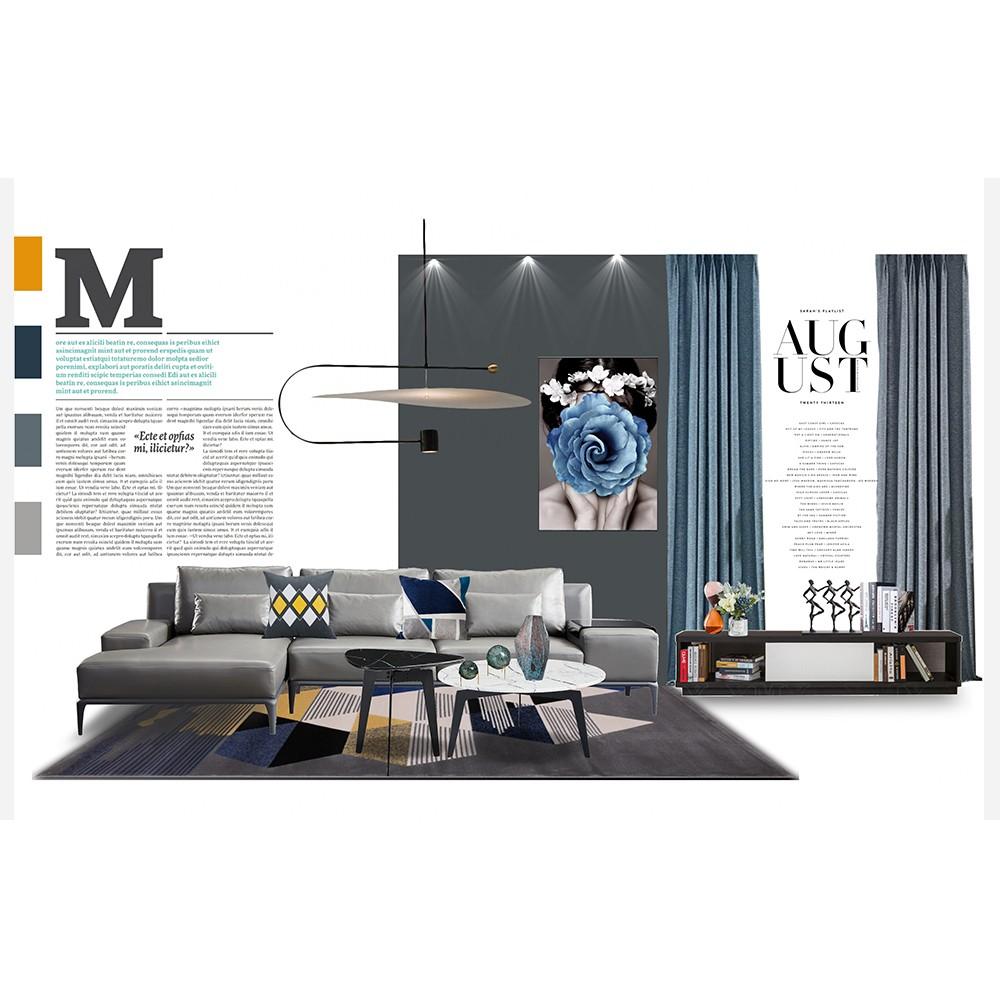 现代风格·尚美家系列两房两厅13件套