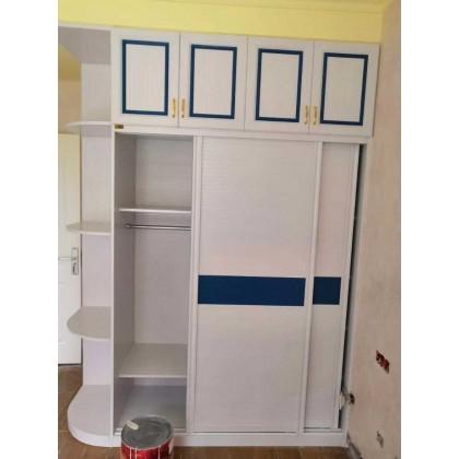 全铝定制家具 现代风全铝衣橱衣柜