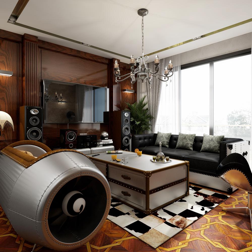 工业风楼盘家具