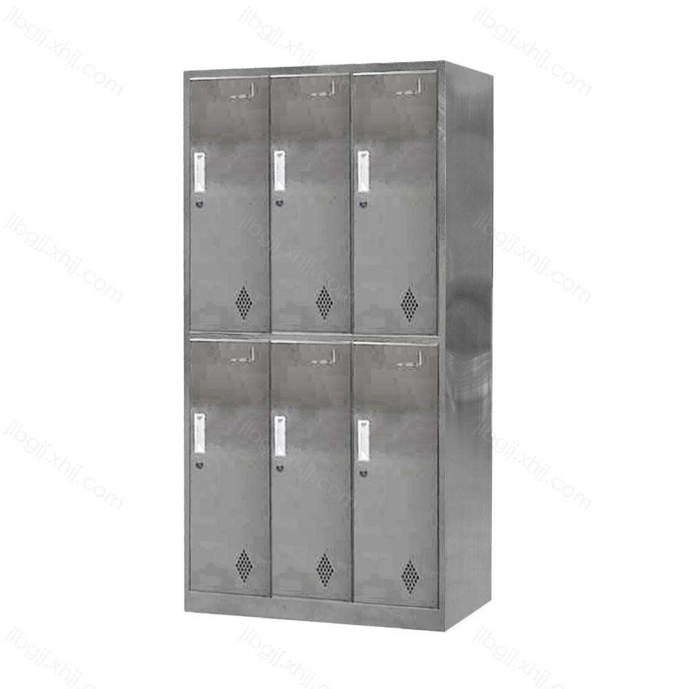 GYG-11 不锈钢六门更衣柜