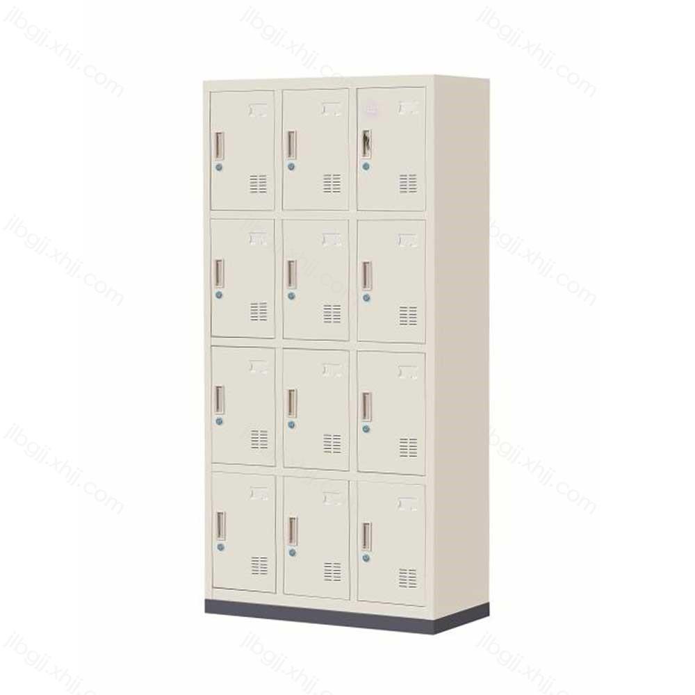 十二门更衣柜办公加厚更衣柜JL-B-08