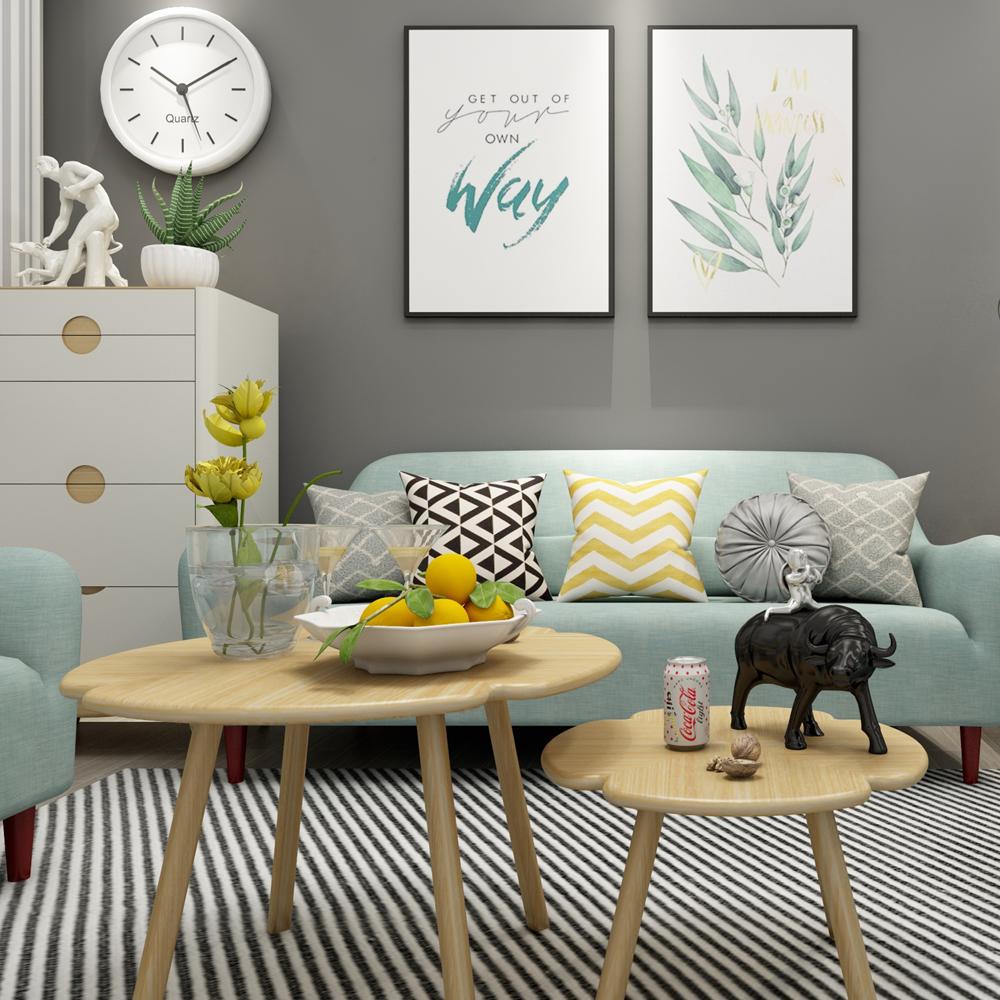 80平小居室北欧风格