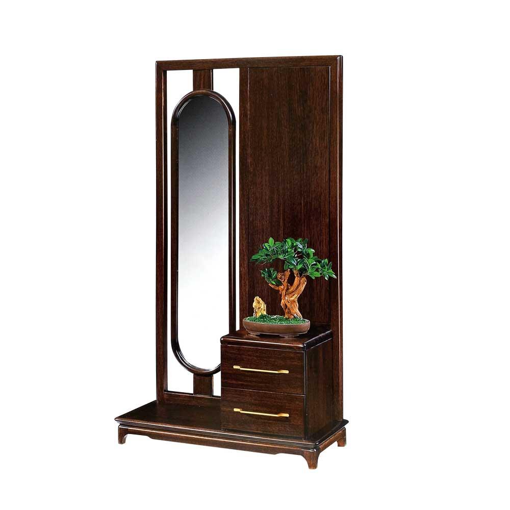 947 新中式黑檀木门厅柜