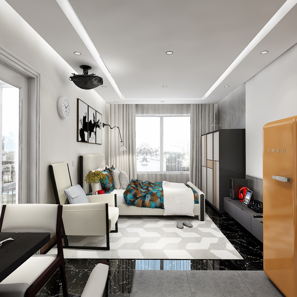 现代风格户型房