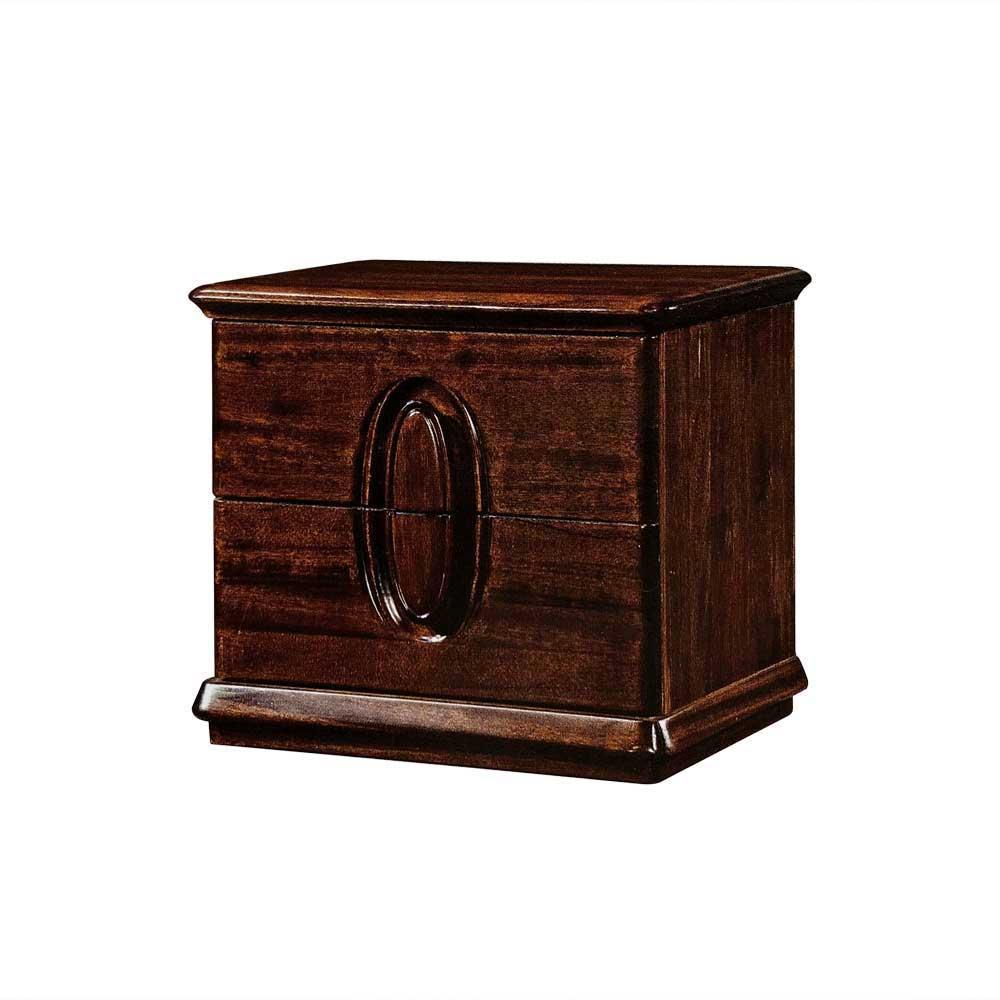 7  黑檀木床头柜