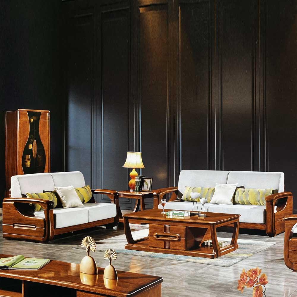 18303 金丝黄檀组合沙发