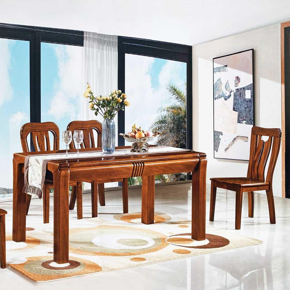 CZ702 金丝黄檀餐桌