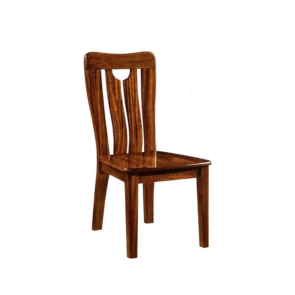 CY701金丝黄檀餐椅