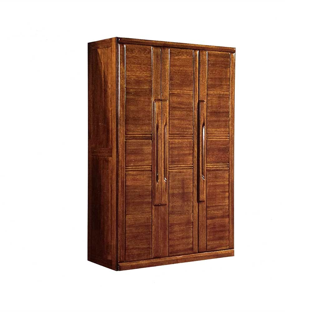 18203  金丝黄檀三门衣柜